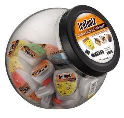IceToolz bandenplakkers AirDam, zelfklevend, 50 doosjes à 6 in pot
