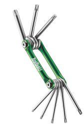 IceToolz gereedschapset Star-8, aluminium