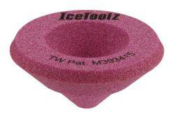 IceToolz schuurblok 16B1, voor schuine buiseinde