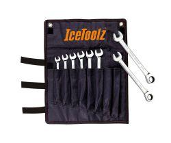 IceToolz Steek-/ring-/ratelsleutel set 41B8, 8~15mm