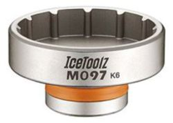 IceToolz trapassleutel 12-tands, voor diverse systemen